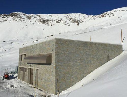 Bâtiment technique pour production de neige artificielle à l'Alpe d'Huez (38)
