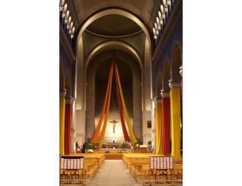 Eglise Saint Joseph des Brotteaux : rénovation de l'éclairage