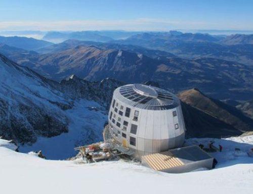 Construction du nouveau refuge du Goûter à  3 835 m (Saint Gervais 74) / capacité 120 personnes