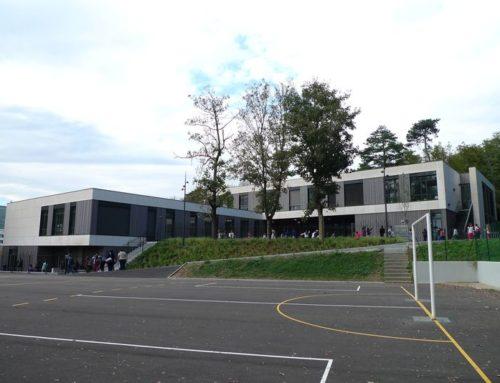 Déconstruction-reconstruction du groupe scolaire de Fontaines sur Saône (69)