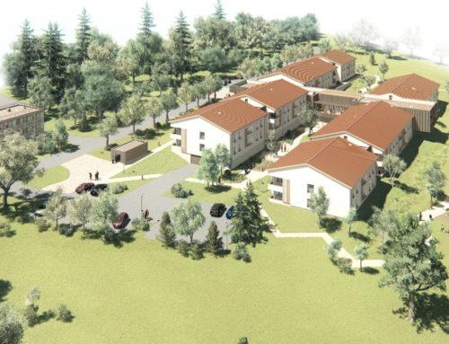 Construction de 60 + 12 logements et d'un ERP à Morancé (69)