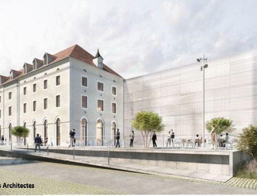 Cité de l'économie créative et de l'ingénierie numérique à Châlon (71)