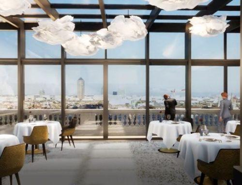 Extension du restaurant Les Terrasses de Lyon de la Villa Florentine