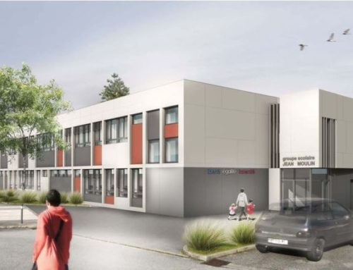 Rénovation groupe scolaire Jean Moulin à Voiron (38)