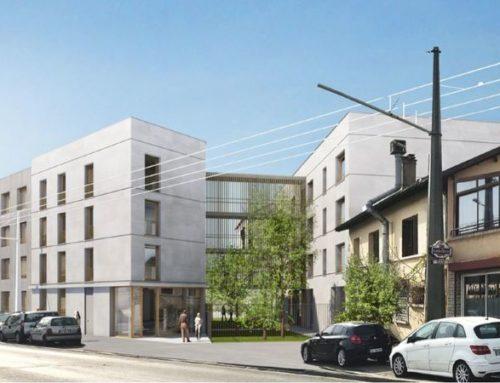 Construction d'une résidence sociale et d'une pension de famille à Villeurbanne (69)