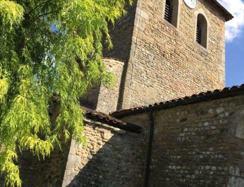 Eglise St Maurice de Gourdans (01) restauration intérieure